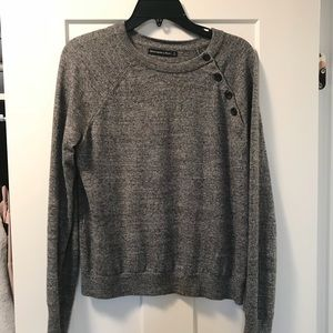 Abercrombie & Fitch charcoal gray sweater - Small